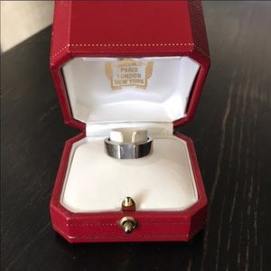 Cartier Tank Ring 100% Authentic